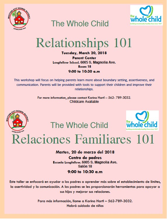 Relationship Workshop Featured Photo