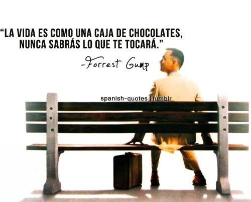 Forrest lo sabe...
