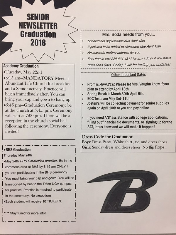 Senior Newsletter Featured Photo