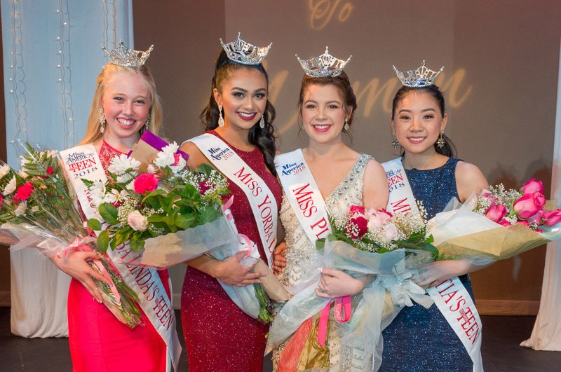 Miss Placentia Miss Yorba Linda winners