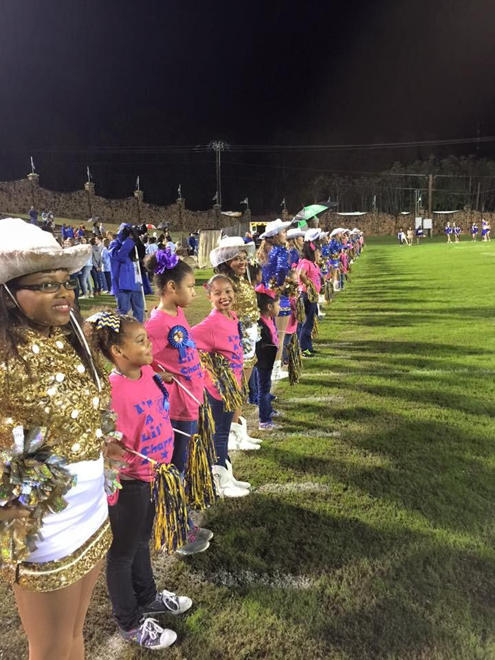 little charmers on the sideline