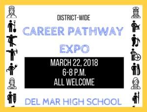 Career Pathway Expo Flyer