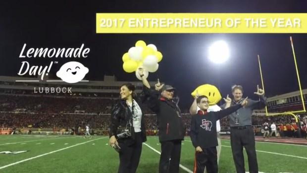 Lemonade Day Entrepreneur of the Year