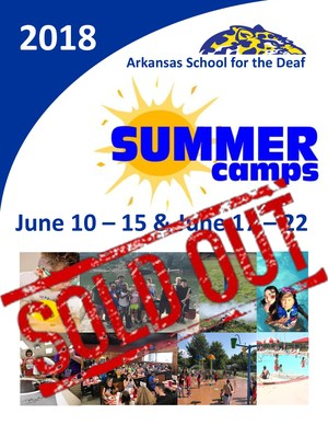 2018 Camp SOLD OUT!