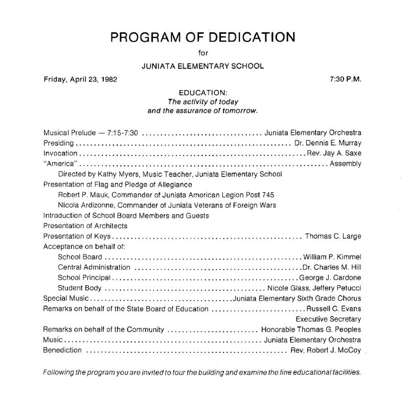Building Dedication Page 2