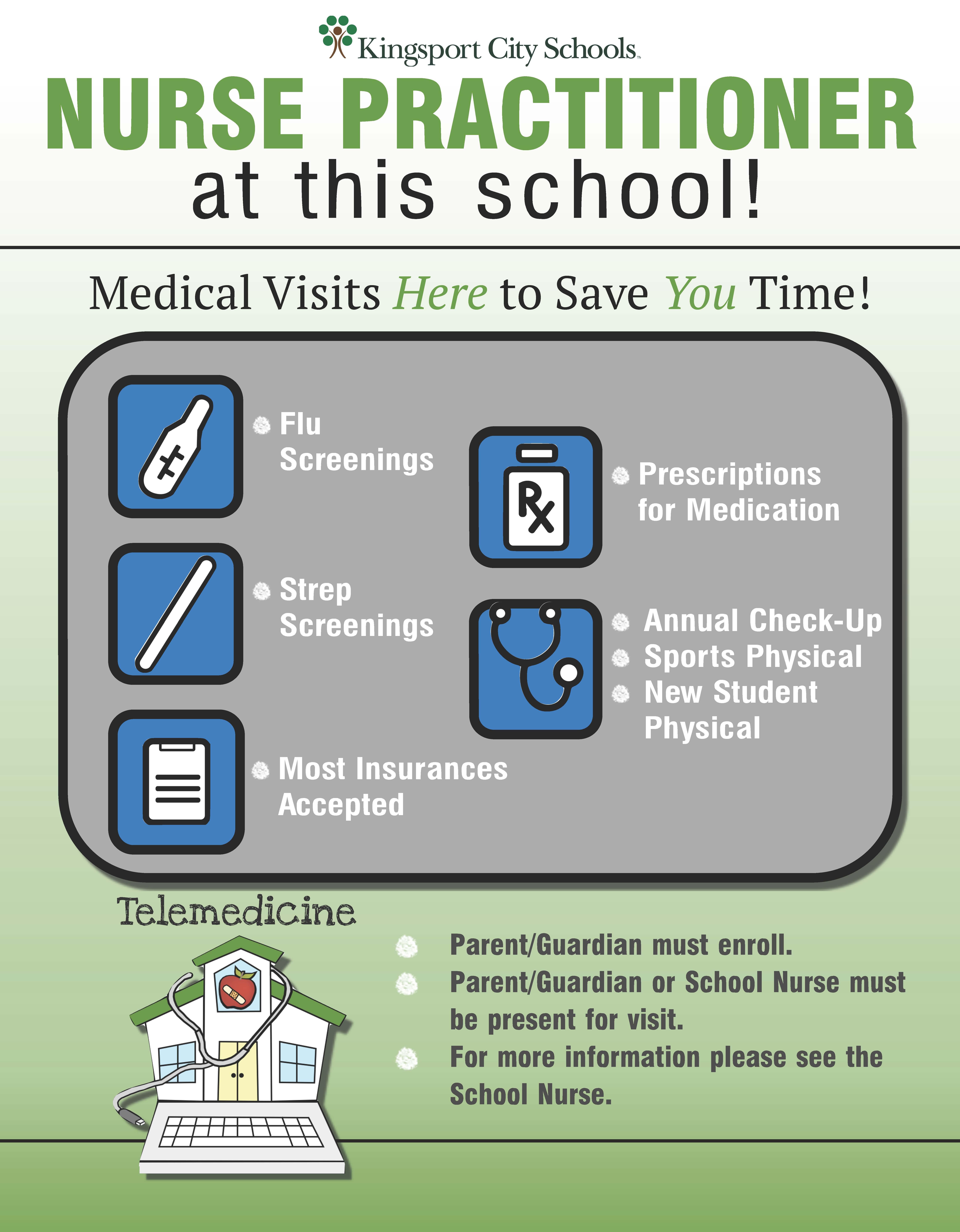 Telemedicine informational flyer