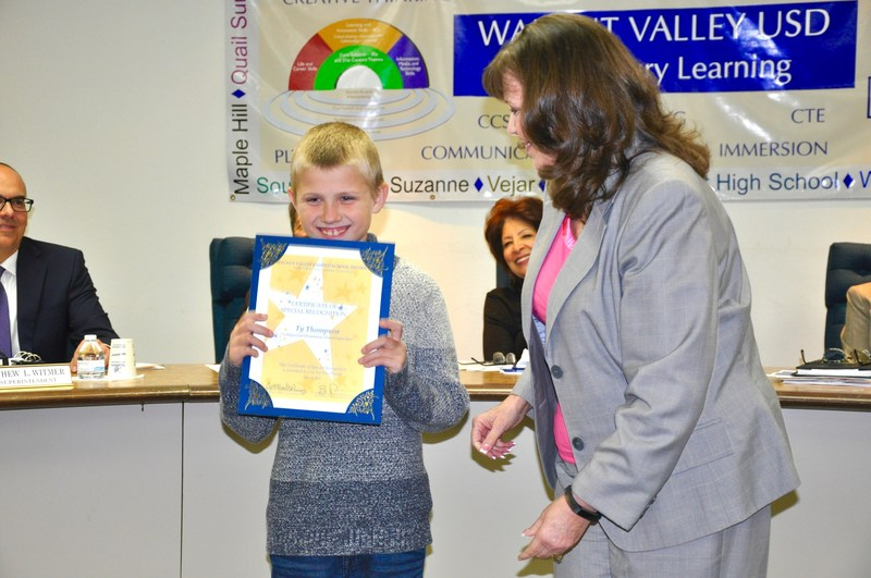Trustees celebrate students, parents for making a difference Featured Photo