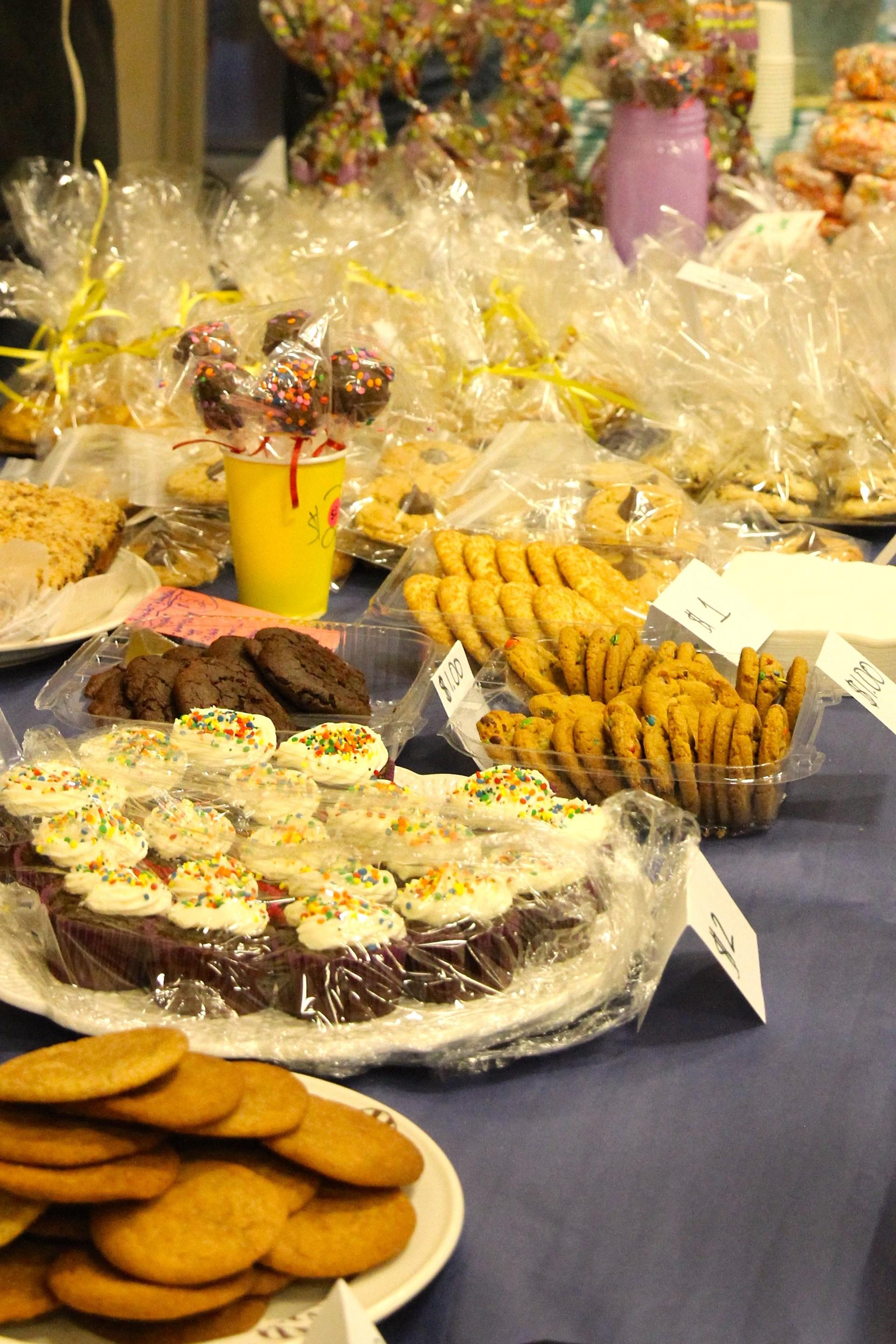 Bake sale goodies
