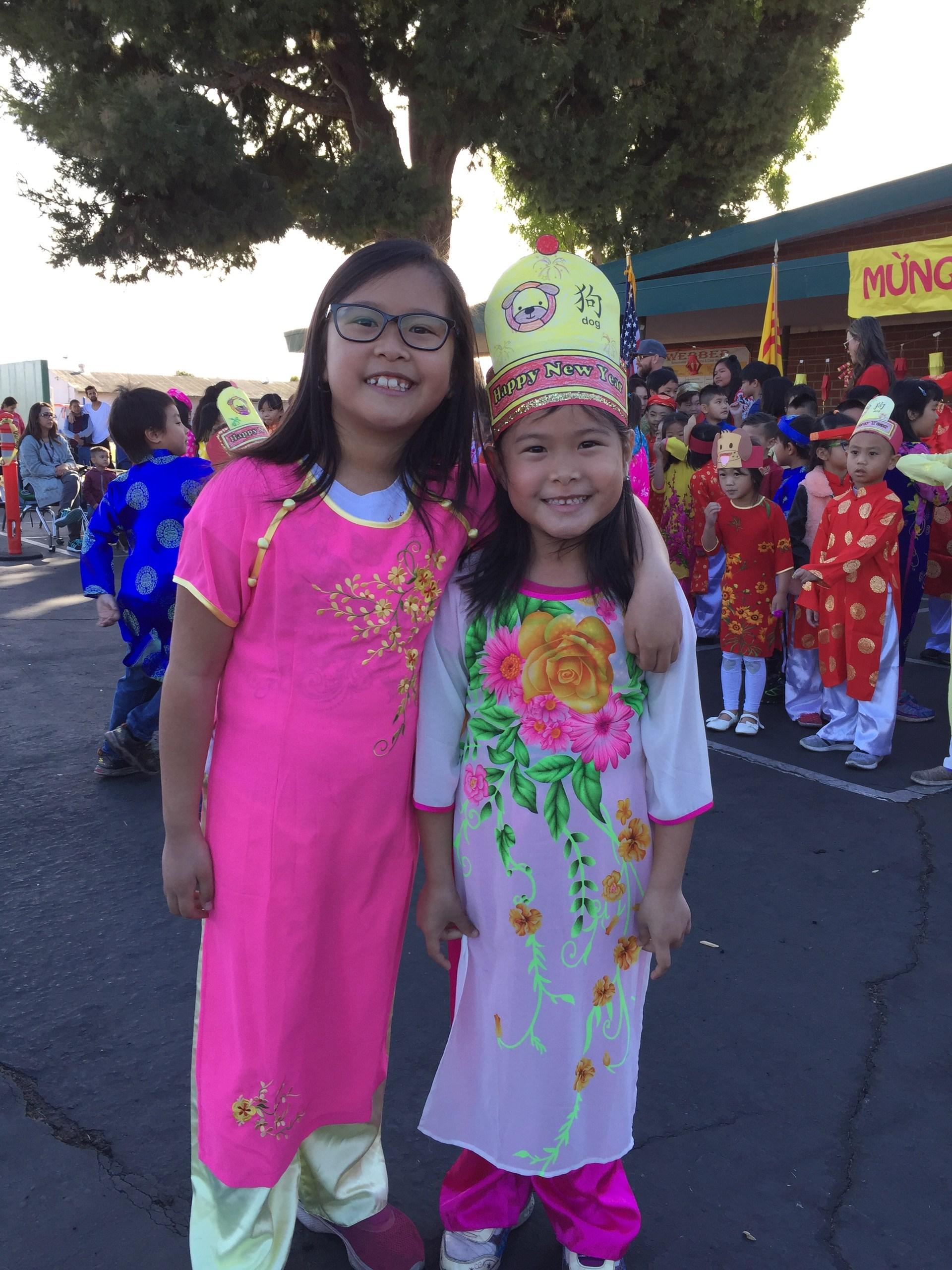 Kindergarten Celebrates Tet
