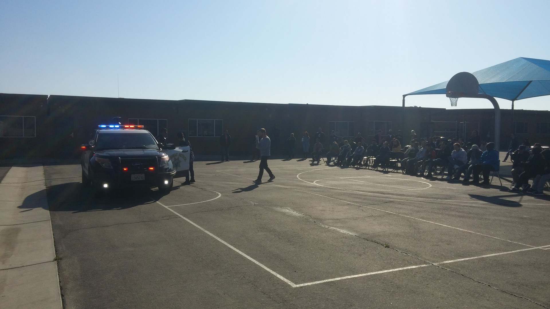 CHP Visits The ABLE Program