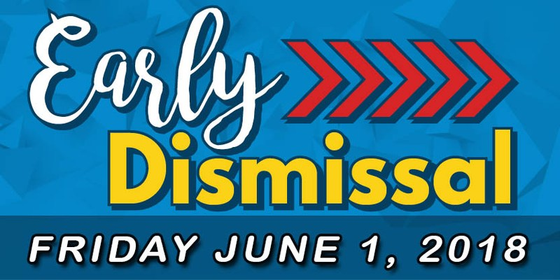 Last Day of School Dismissal Times Thumbnail Image