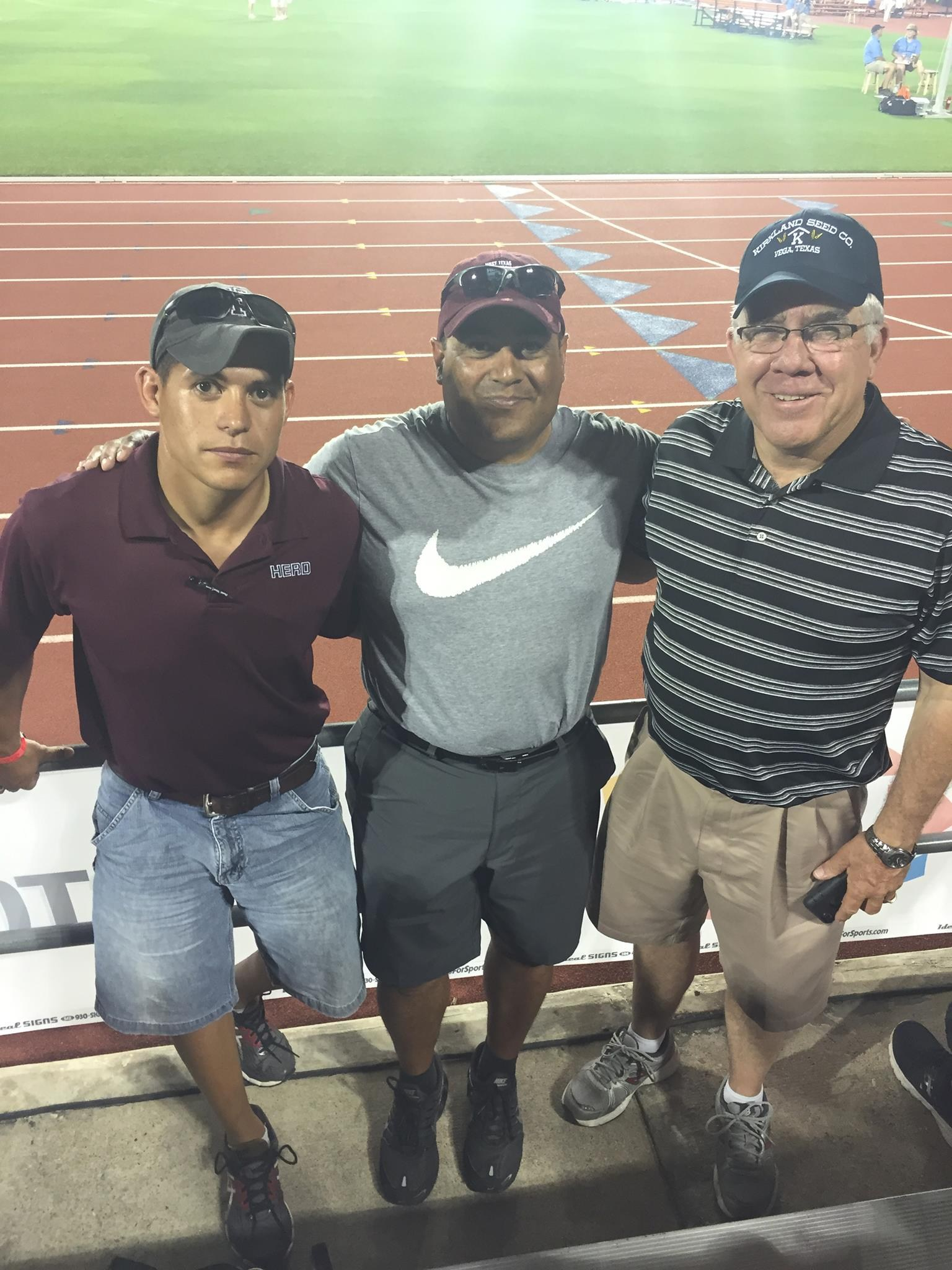 3 Generations of Hereford Track Coaches