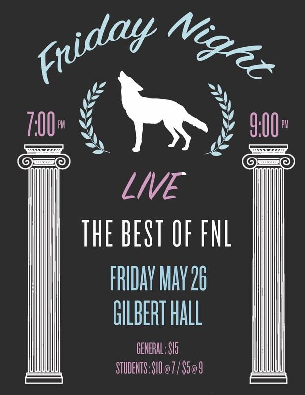 It's Friday Night Live! Thumbnail Image