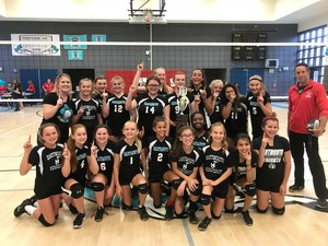 Lady Knights - Diamond Valley League Volleyball Champions