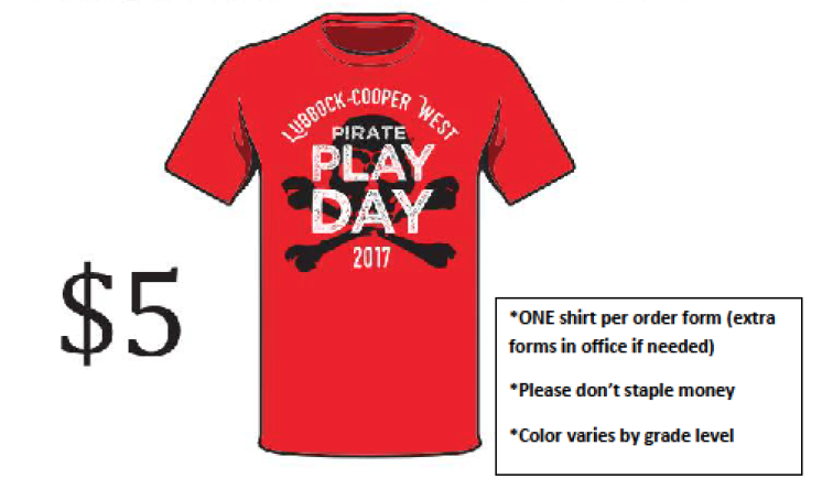 Order a Pirate Play Day T-Shirt Thumbnail Image