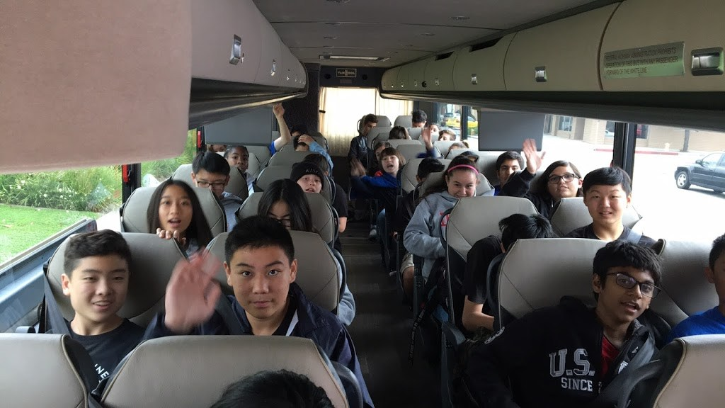 AVID 8 on our way to San Diego!