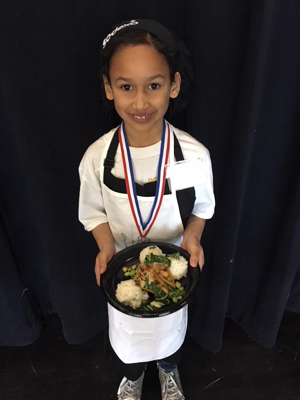 Jayla Patten winner of future chef