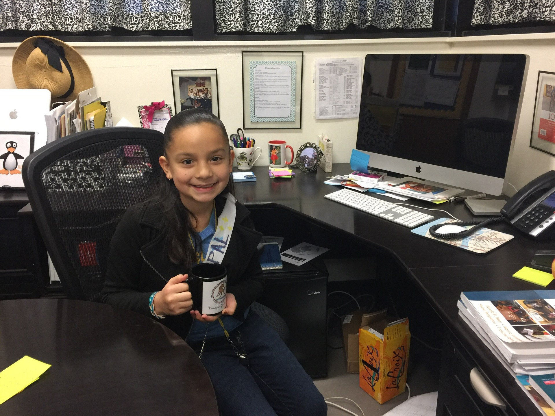 Principal for the day