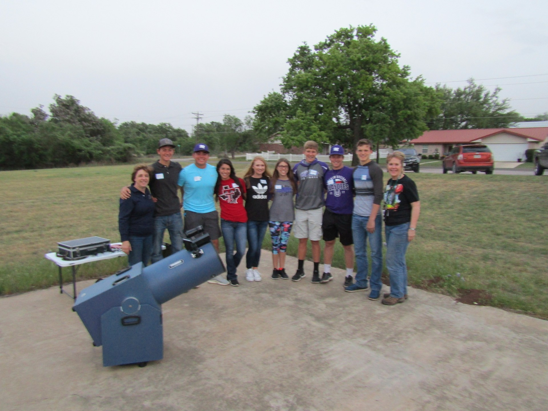 MHS Pioneers at the Star Party