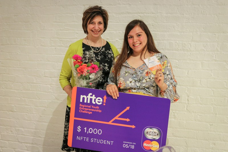 2nd Place Wins for Student, Teacher at NFTE Regionals Featured Photo