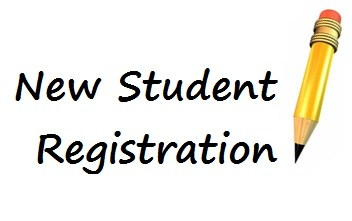 NEW STUDENT REGISTRATION HAS BEGUN Thumbnail Image