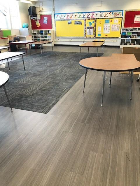 Laurel classroom