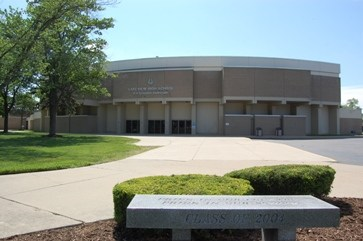 Front of Lakeview Auditorium