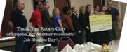 Thank you Rotary Club of Smyrna for a successful job shadow day!