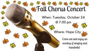 Fall Chorus Concert