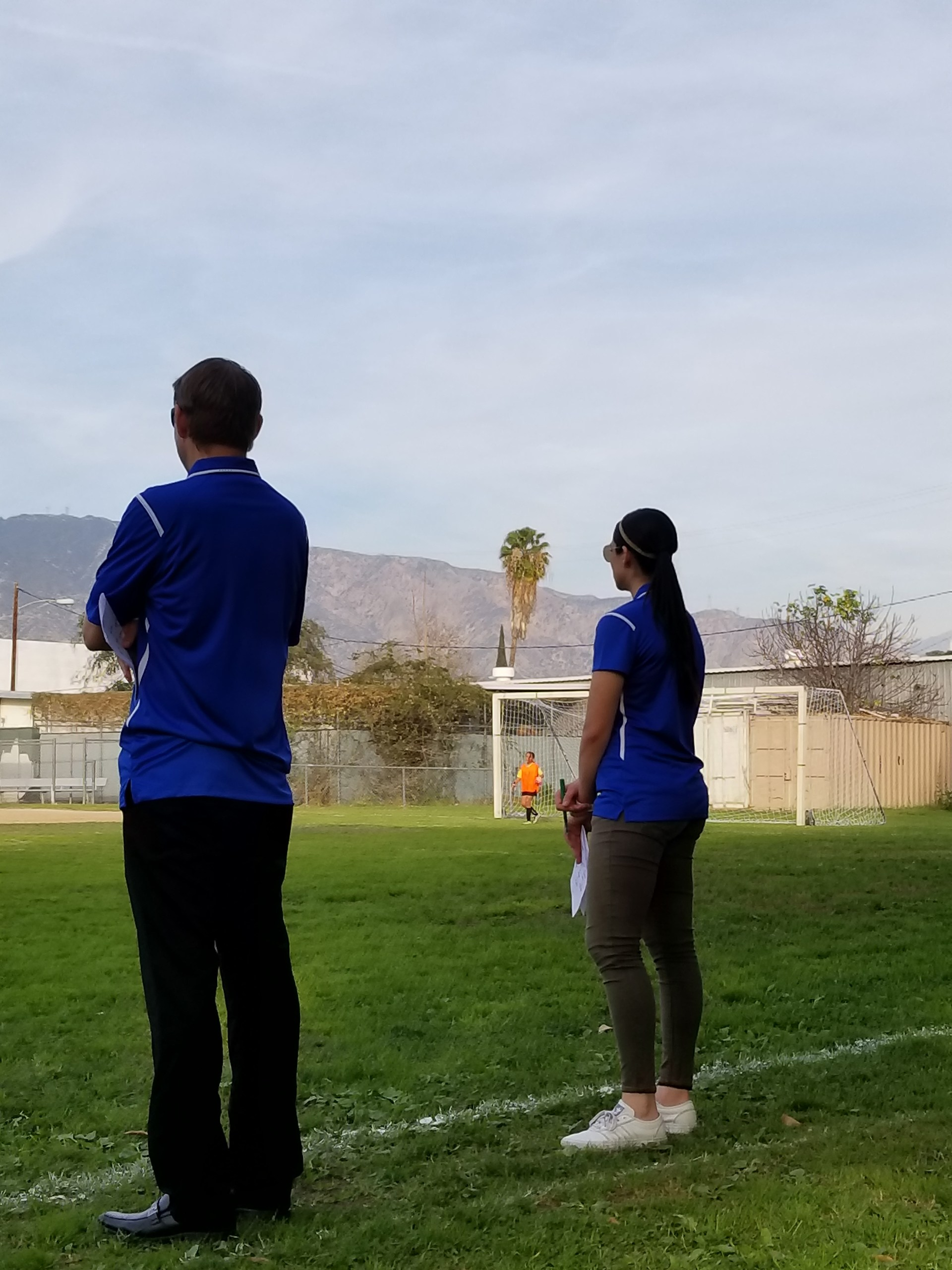 Coach Issa and Foran
