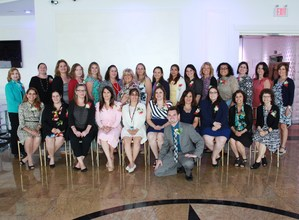 Group Photo of the Teacher/Educational Services Recognition Luncheon