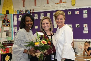 Annie Belle Clark is proud to announce Mrs. Caitlyn McFarland, first grade teacher, is ABC's 2018-19 Teacher of the Year.