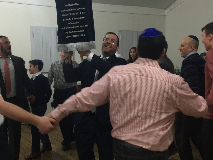 HAFTR 7th Graders Donate Sefer Torah to the IDF Featured Photo