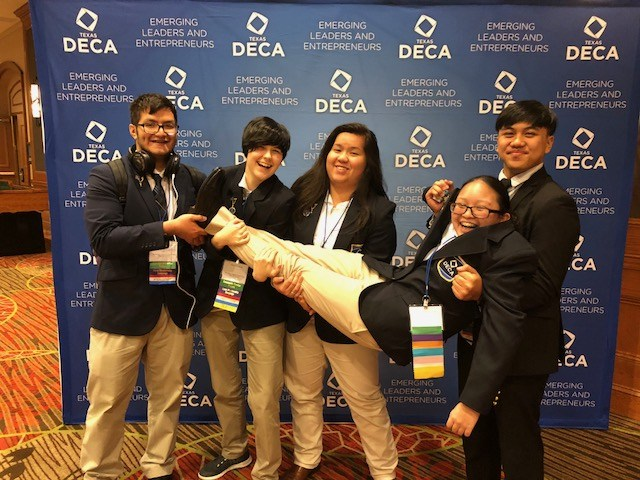 DECA Student wins 1st Place in State Career Development Conference in Dallas, TX Featured Photo