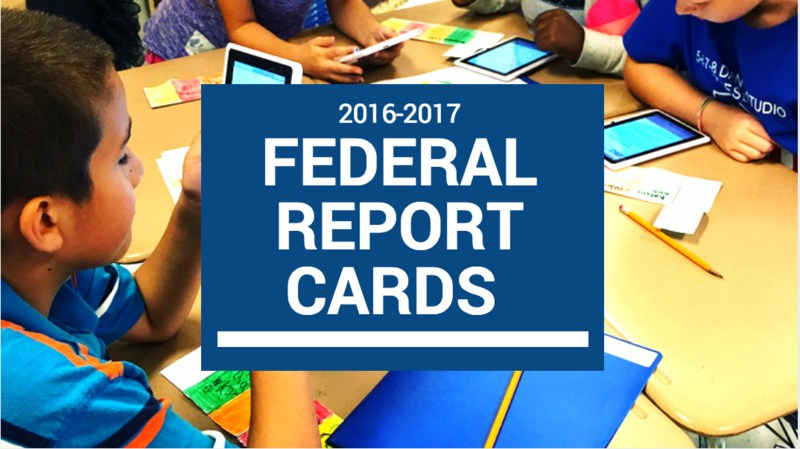Federal Report Cards Featured Photo