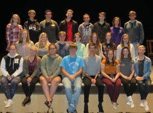 TKHS cast members of the fall play