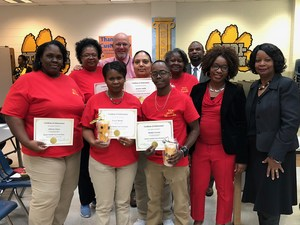 January 2018 Custodial Team of the Month