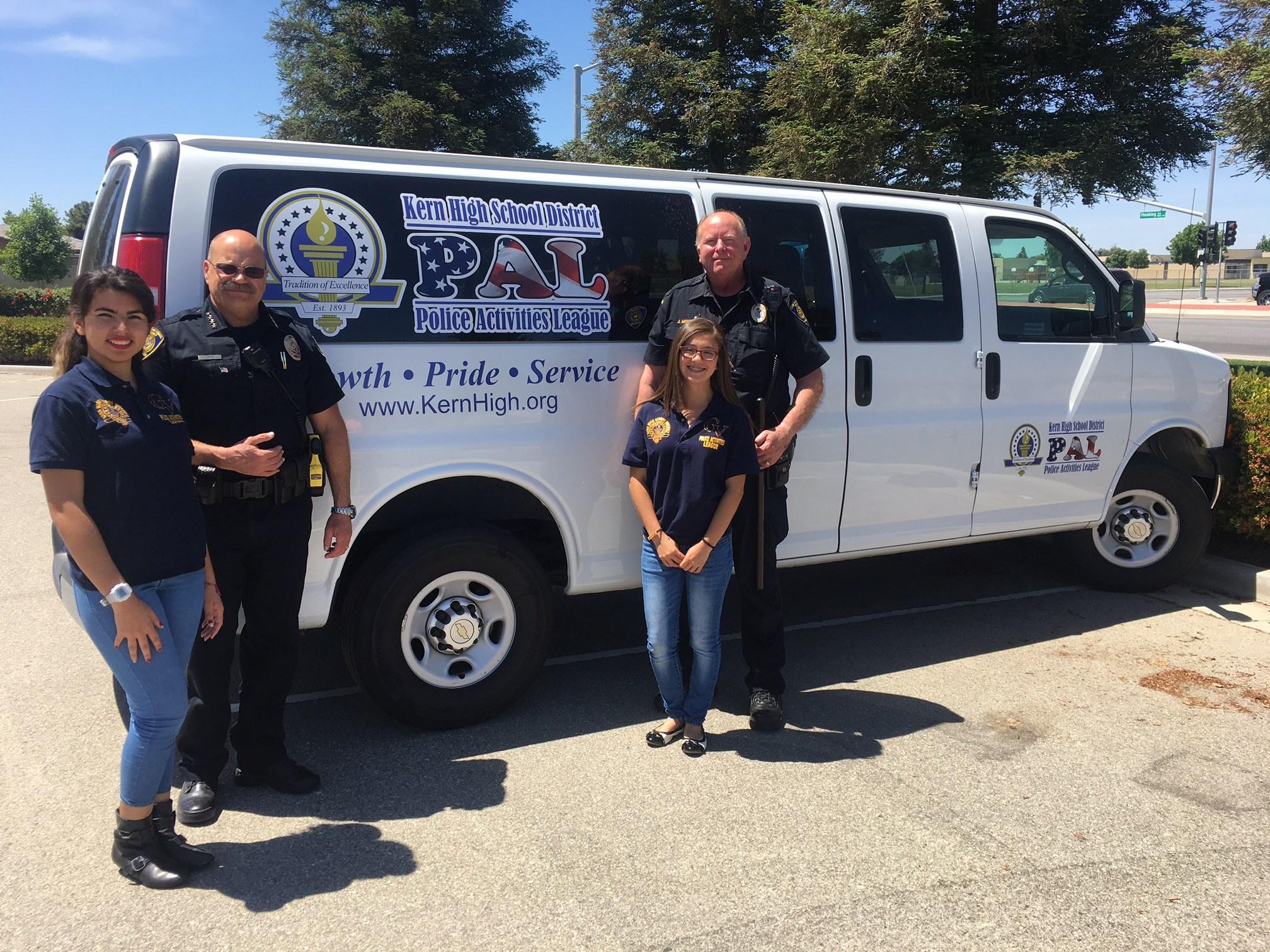 Police Activities League – Police Department – Kern High School District
