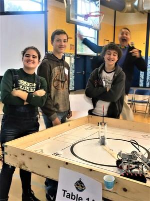 robotics team photo
