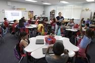 Students in a Serrano classroom