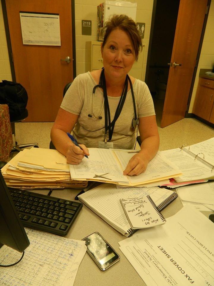 Mrs. Jennifer Garrett, RN and School Nurse