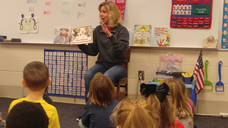 Mrs. Richardson reads