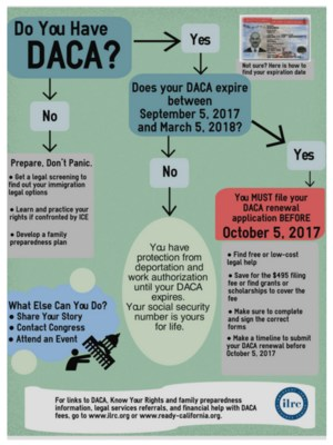 Do have have DACA flyer