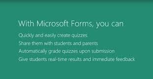 Why Microsoft Forms