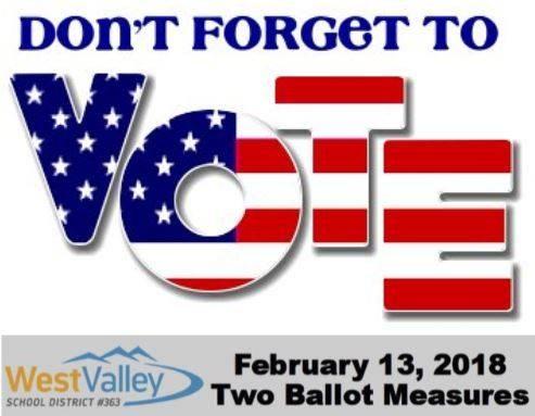 Remember to Vote Feb 13