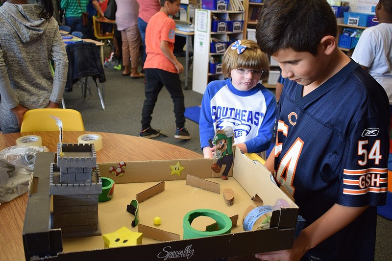 Southeast hosts arcade as part of Cardboard Challenge Thumbnail Image