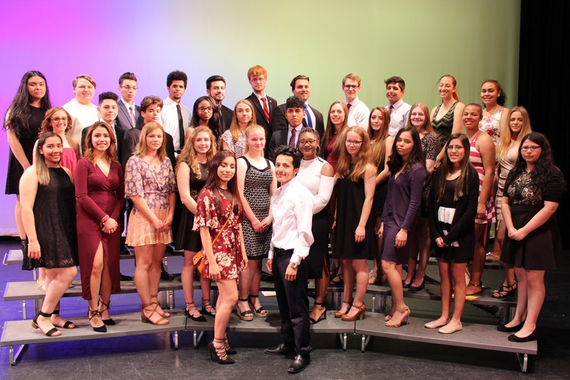 Harvey High School's National Honor Society Chapter Inducts New Members Thumbnail Image