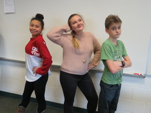 Members of the TKMS cast for the play