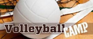 Volleyball camp logo