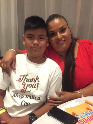 Jorge and proud mama bear, Maria!